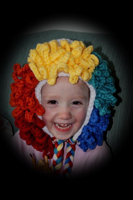 Clown Hat Crochet Pattern