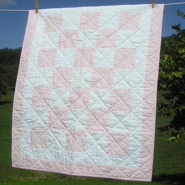 The Easy1234 Baby Quilt