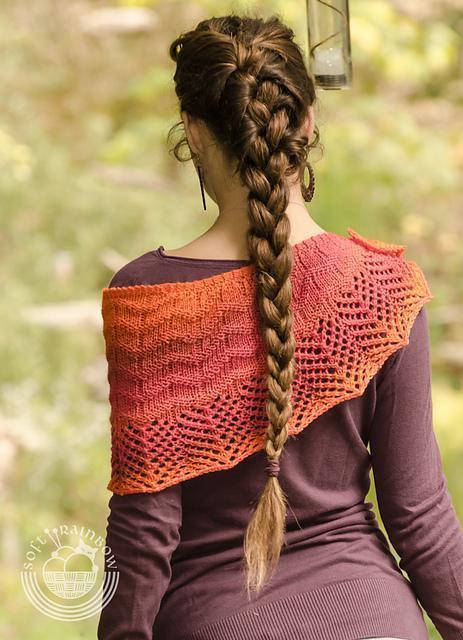 Rising Sun FREE Shawl Knitting Pattern