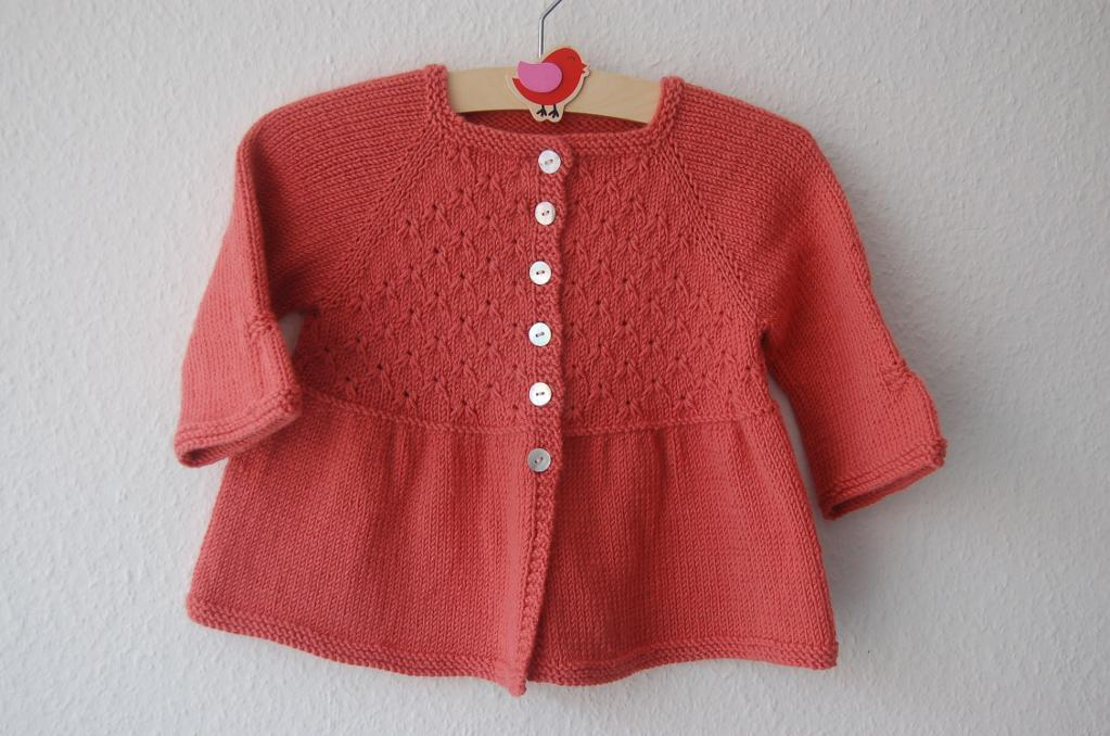 Alouette Knitted Baby Dress Pattern