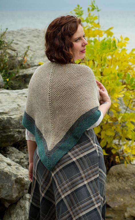 Highland Travel Shawl FREE Knitting Pattern