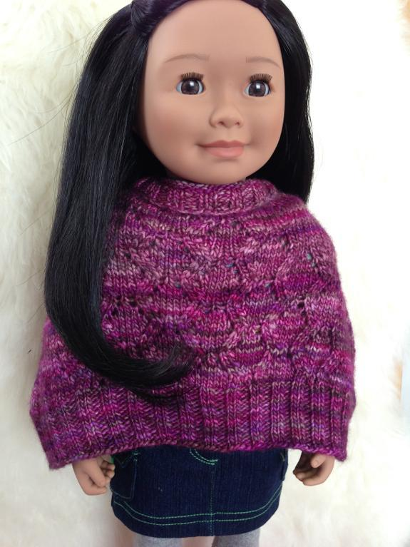 American Girl Doll Knit Cape Pattern