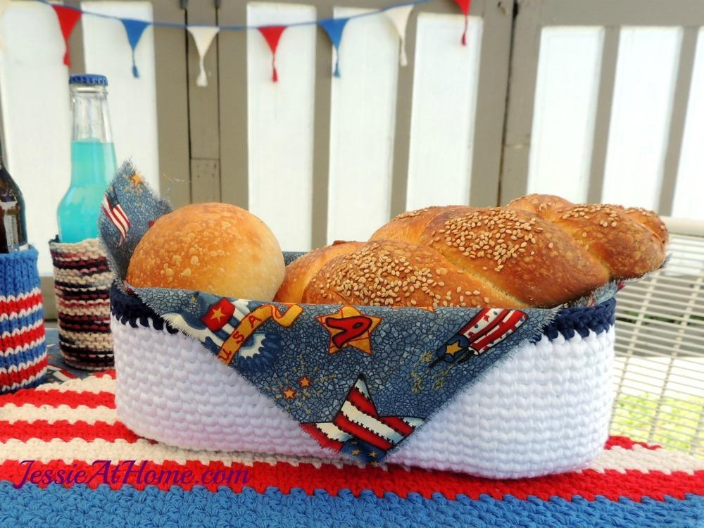 Bread Basket Crochet Pattern