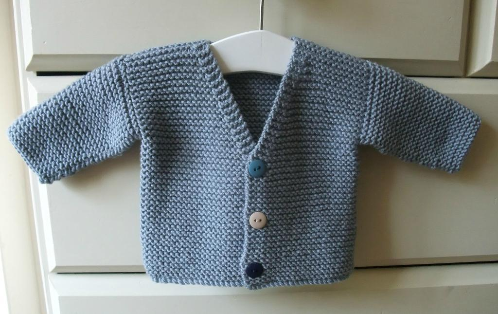 Noah Baby Cardigan Knitting Pattern