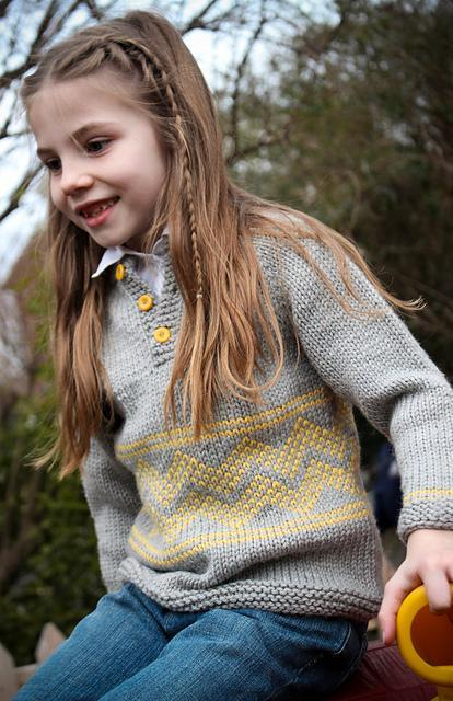 Charlie Pullover FREE Knitting Pattern