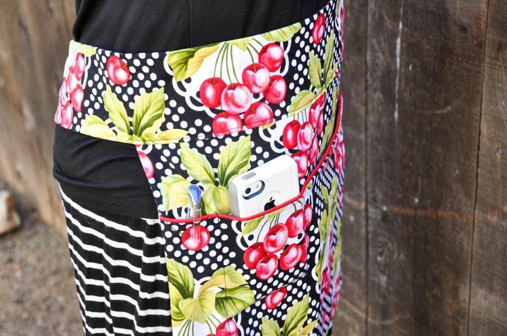 Fruitful Apron FREE Sewing Pattern