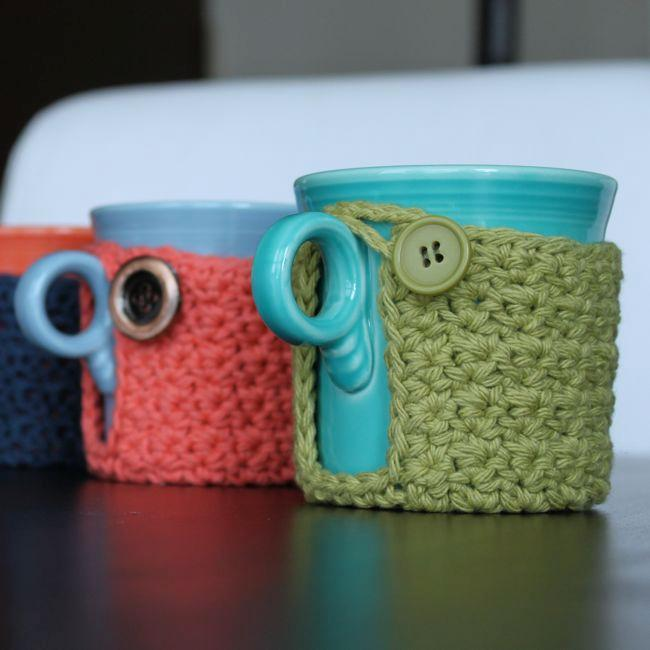 Mug Coaster Cozy FREE Crochet Pattern