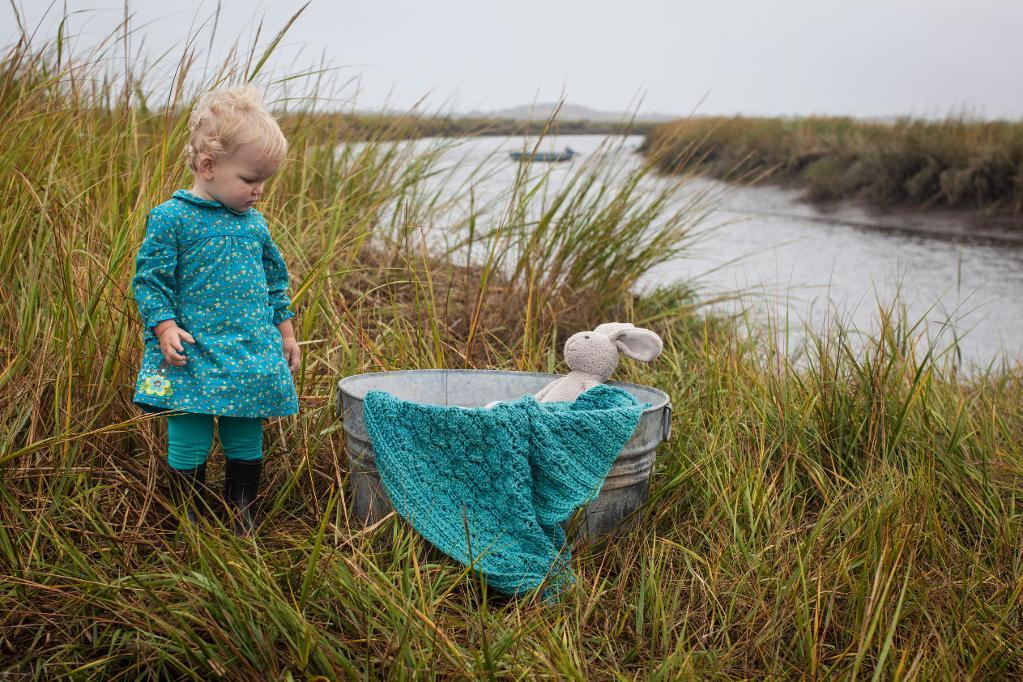 Pine Island Blanket Knitting Pattern
