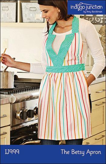 The Betsy Apron Sewing Pattern