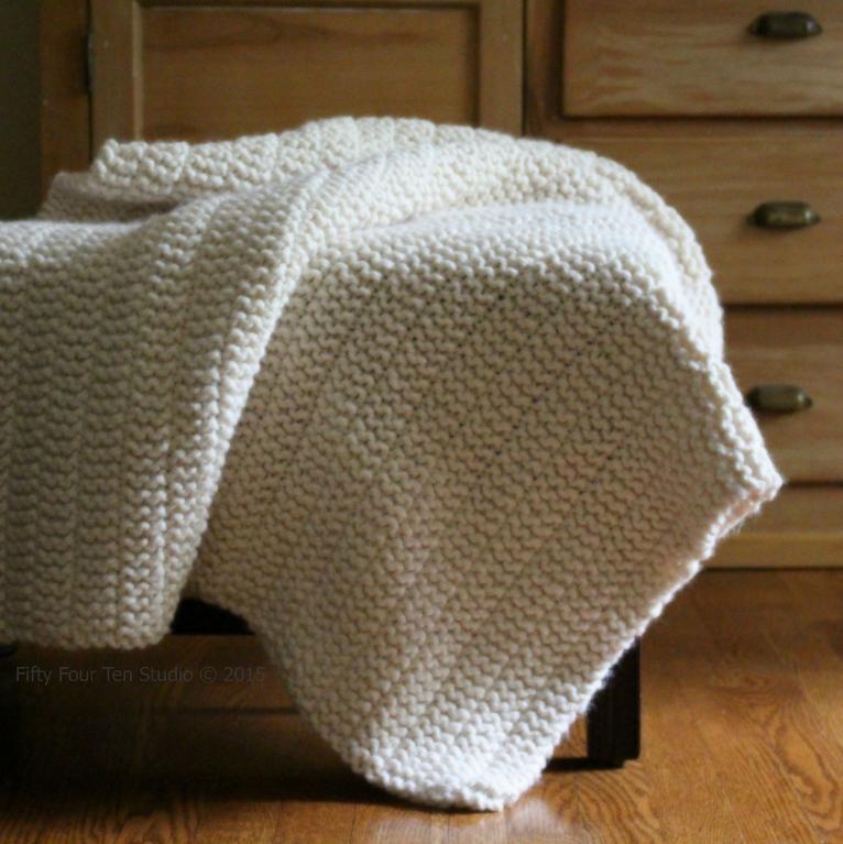 The Boulevard Blanket FREE Knitting Pattern