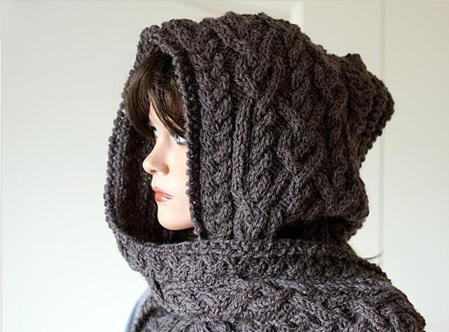 Hooded Scarf Ingrid