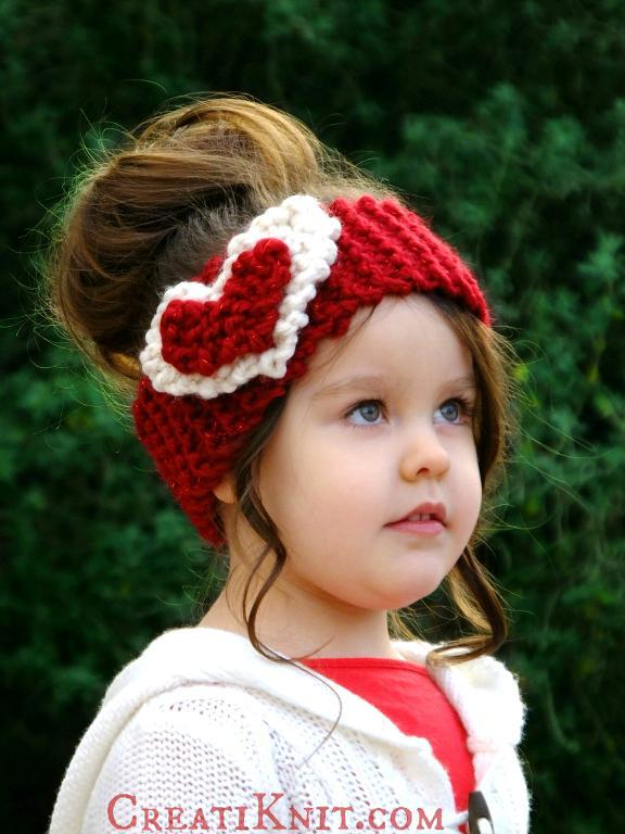 The Heart Headwarmer FREE Knitting Pattern