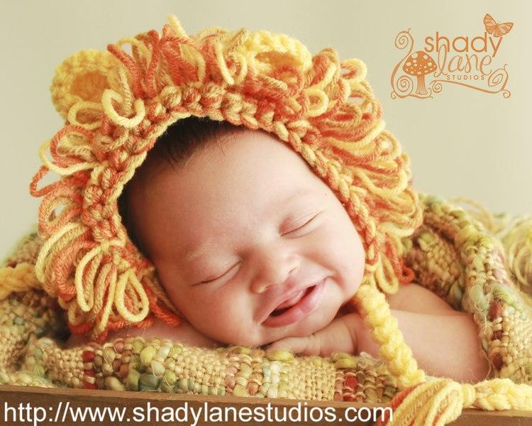 Lion Hat Crochet Wig Pattern