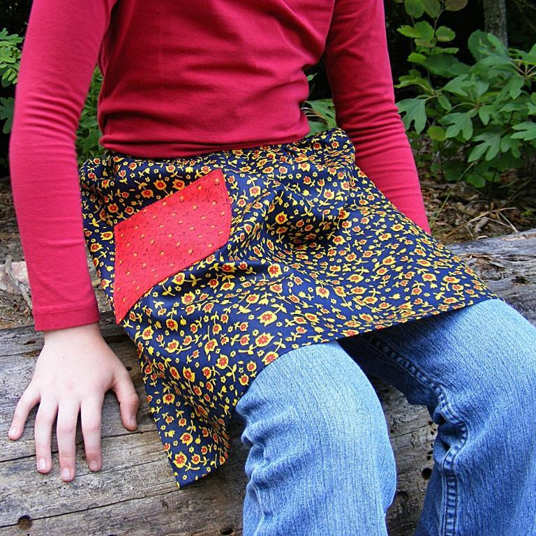 FREE Easy Apron Sewing Pattern