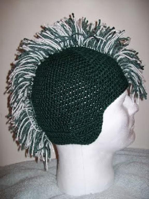 Mohawk Hat Crochet Pattern