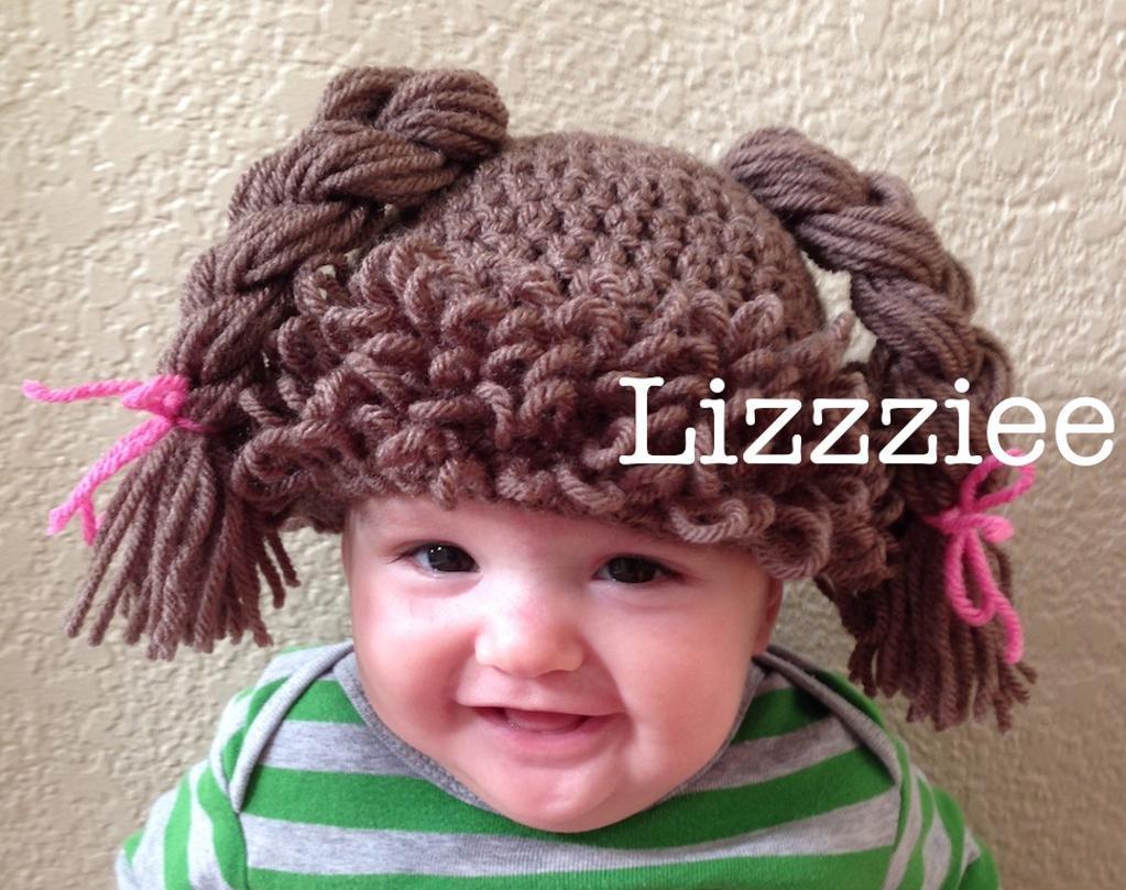 Doll Hair Wig Crochet Pattern