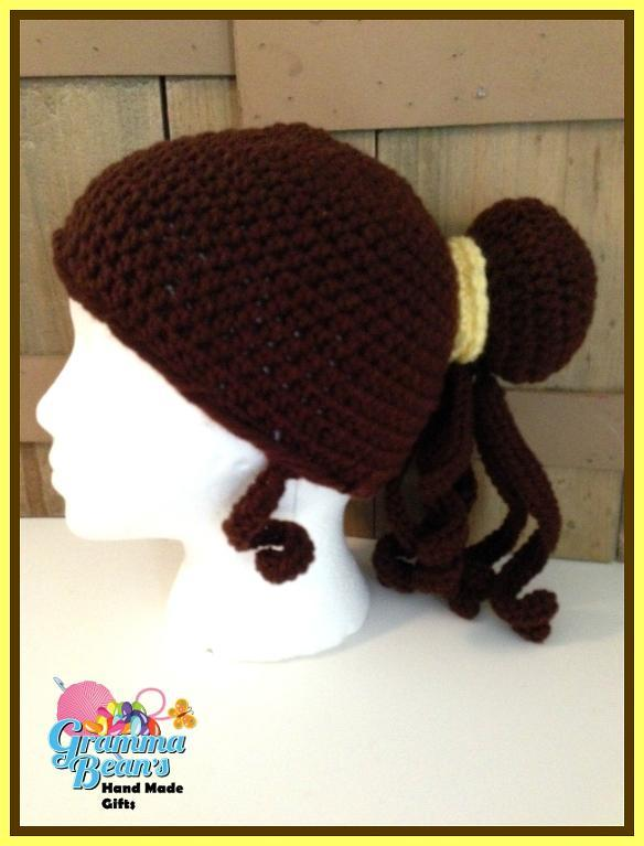 Princess-Inspired Hat or Wig Crochet Pattern