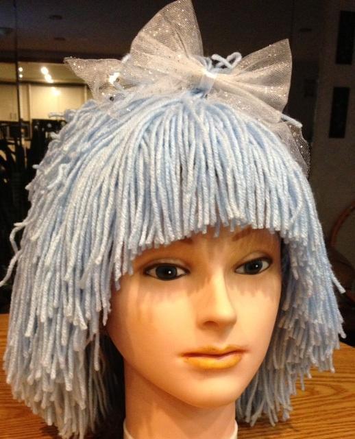 Blue Hair Fairy Crochet Pattern