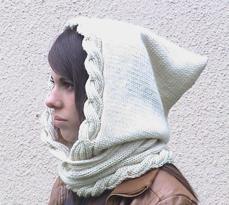 Isaure Hood Knitting Pattern