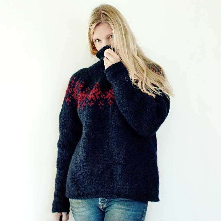 Twilight Sweater Knitting Pattern