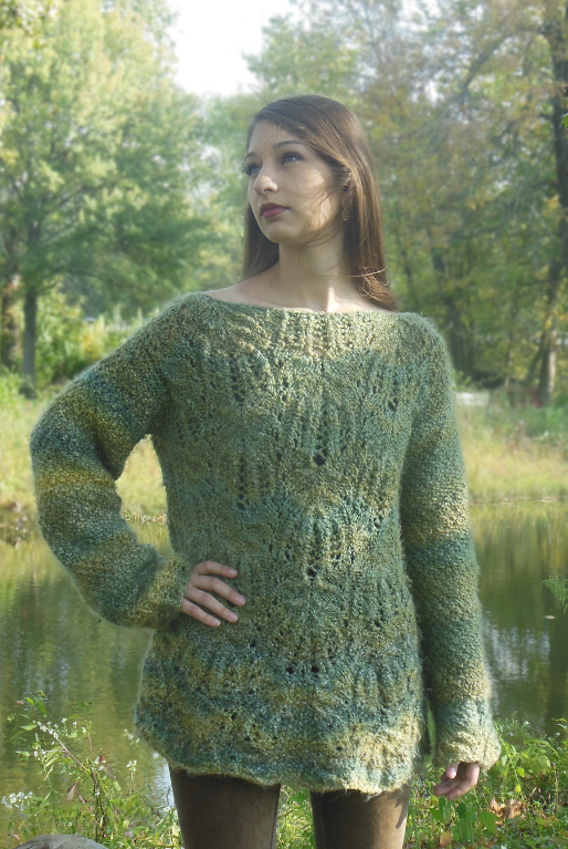 Avril Sweater Knitting Pattern