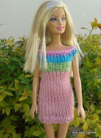 Barbie's Knitted Dresses FREE Pattern