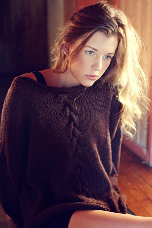 Summer Night Sweater Knitting Pattern