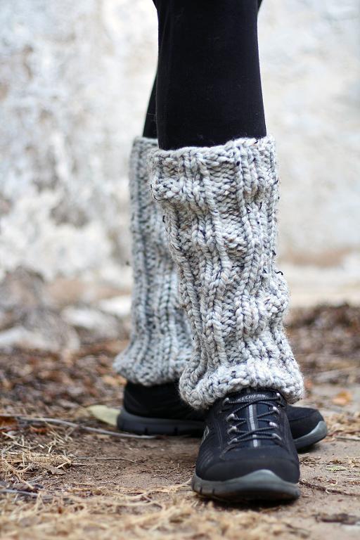 Knit Leg Warmers (Daring) Knitting Pattern