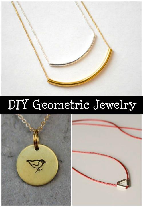 DIY Geometric Jewelry