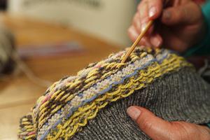 jacquard knitting example