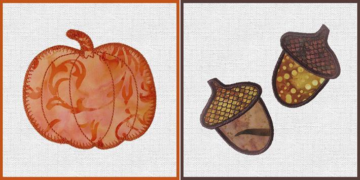 marjorie pumpkin acorns