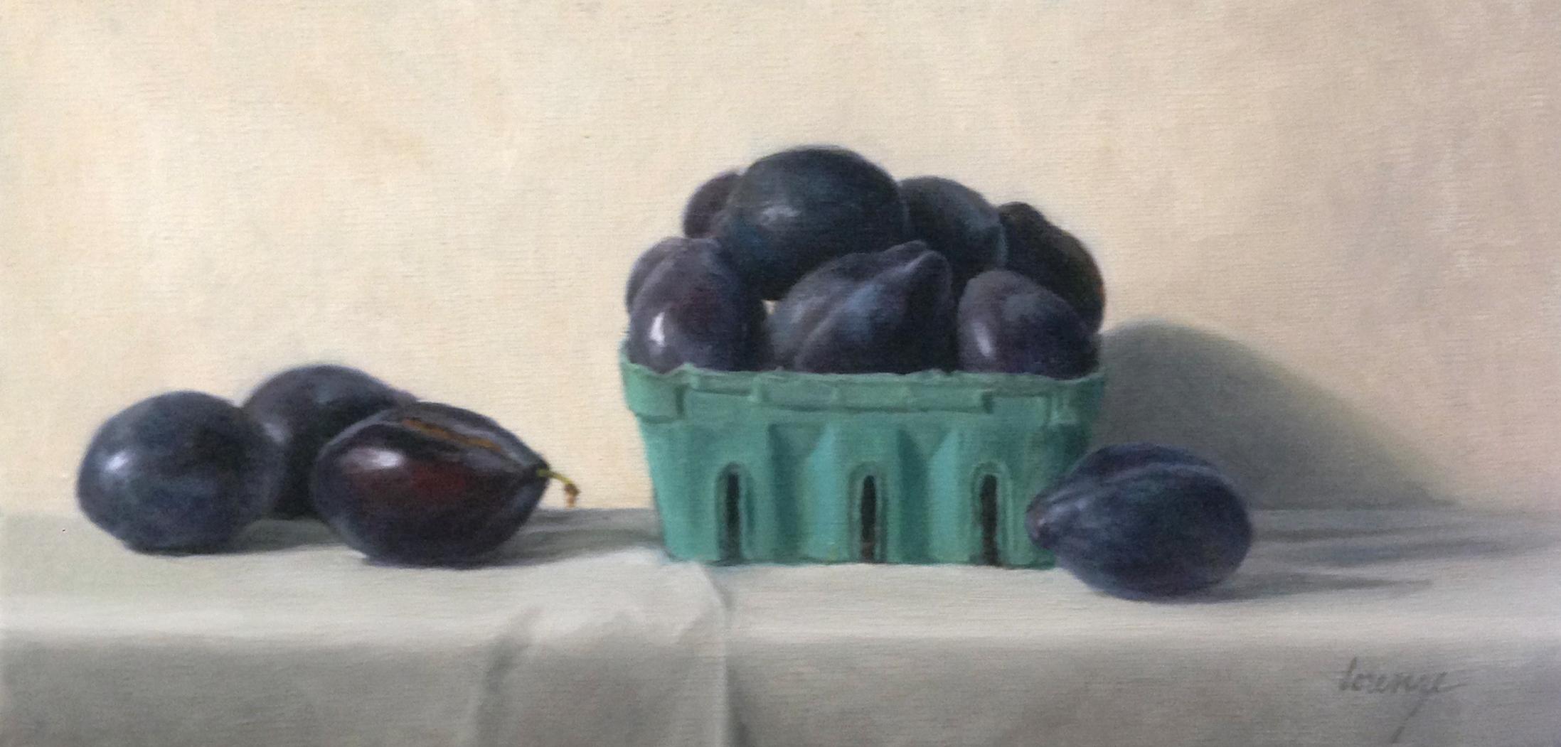 plums in berrybasket