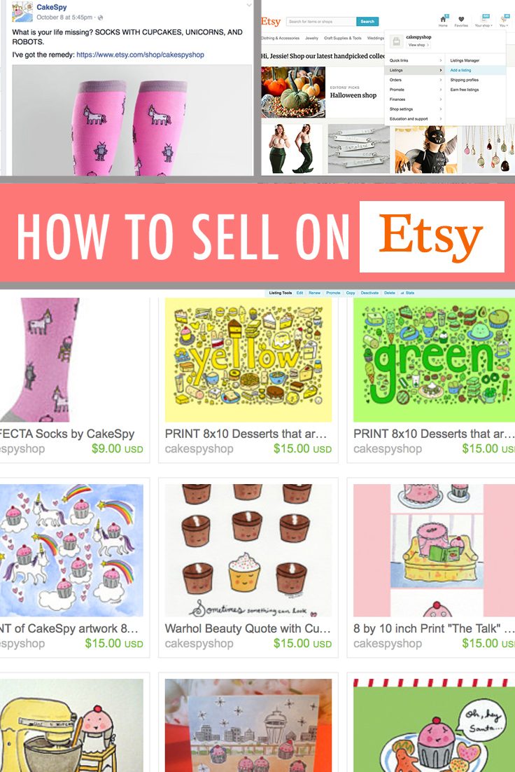 How to sell on etsy