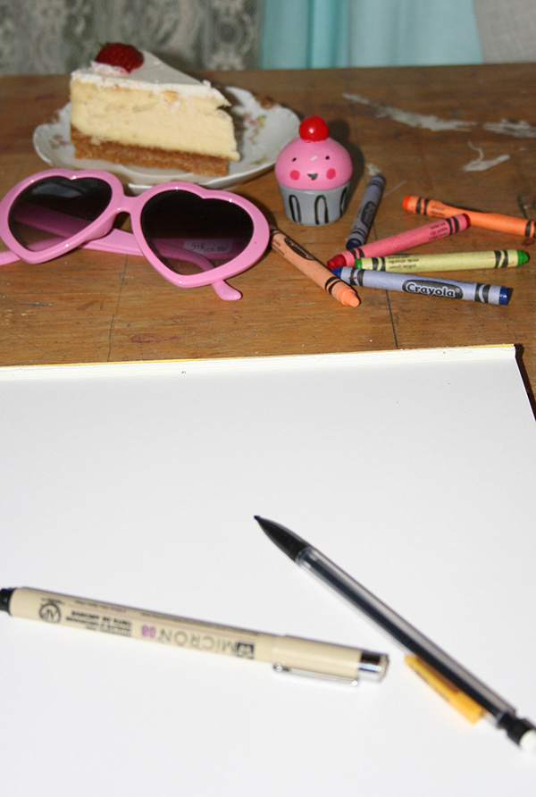 Still Life Drawing Setup