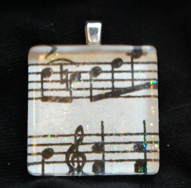Sparkly version of pendant
