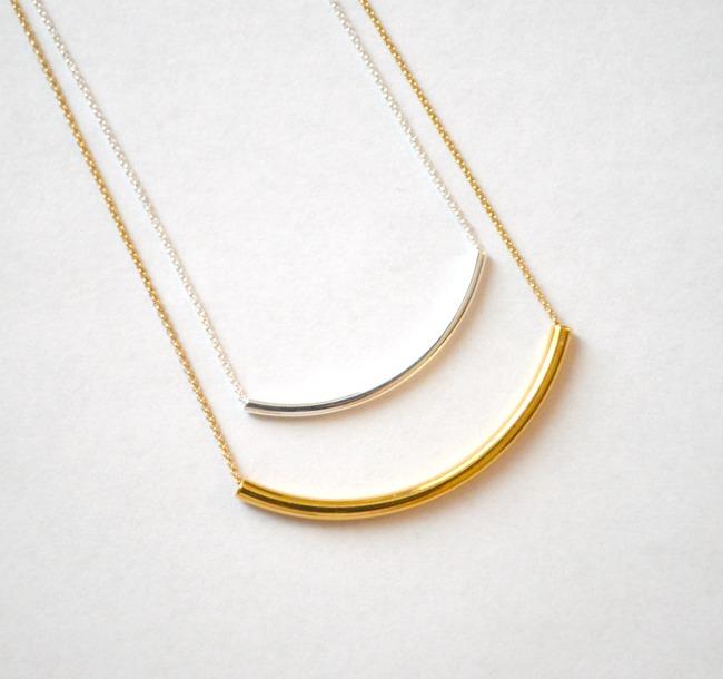 Layered Tube Necklace