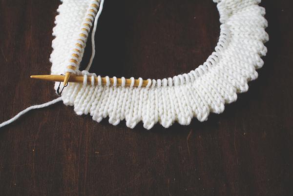 Knit Picot Hem