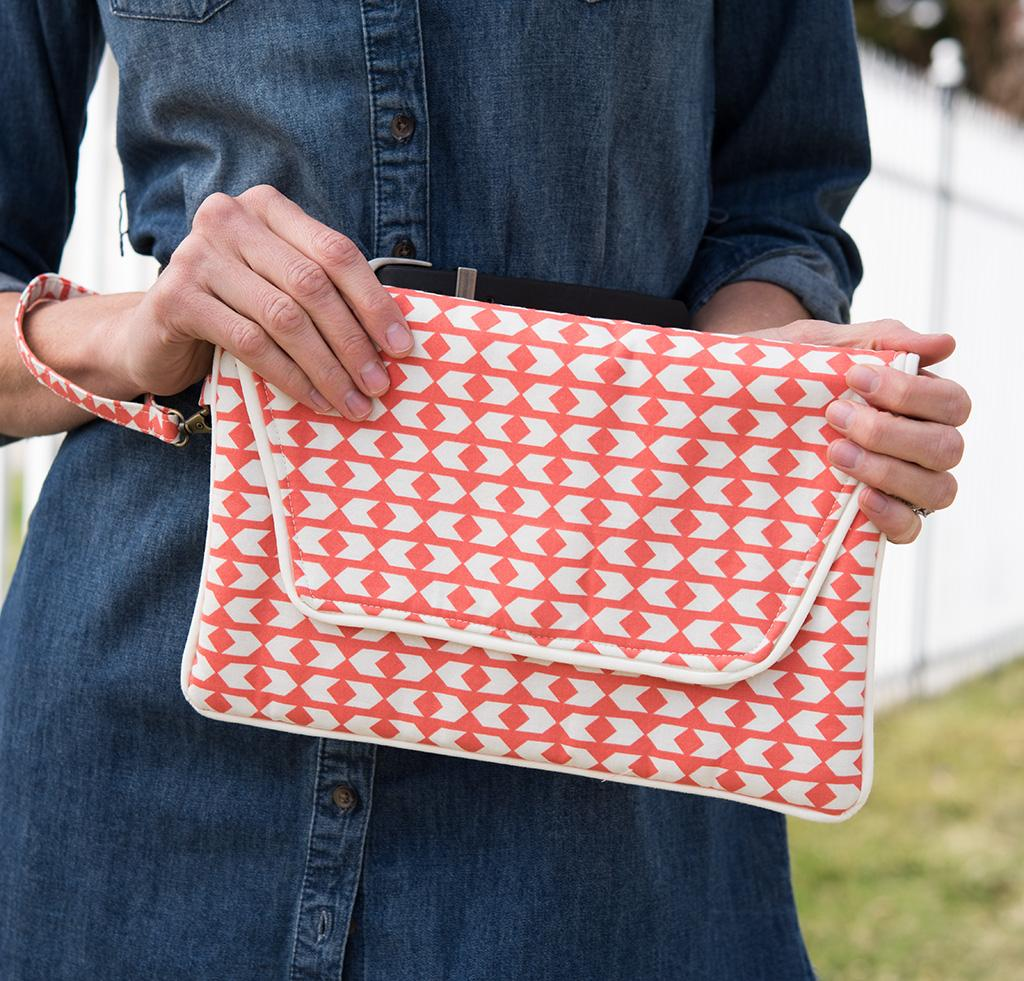Noodlehead Envelope Clutch Sewing Kit