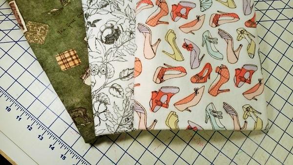 An assortment of flannel prints