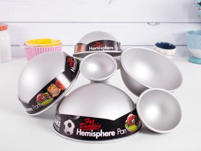 Hemisphere pans