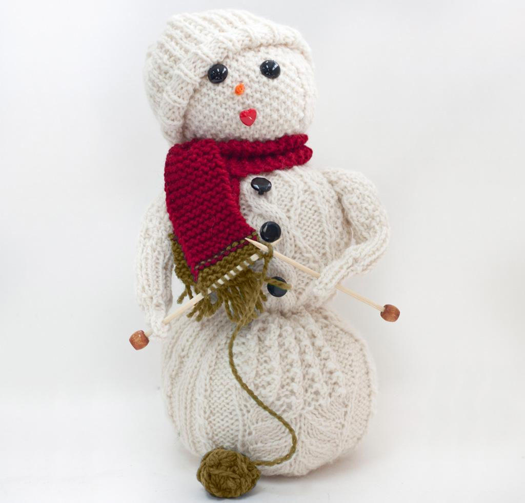 Frost Flower Knitting Kit