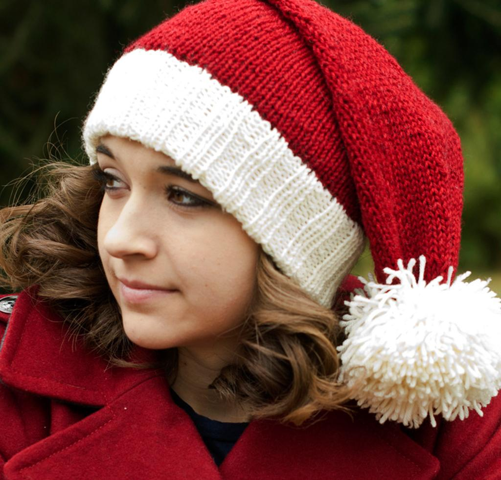 Santa Hat Knitting Kit