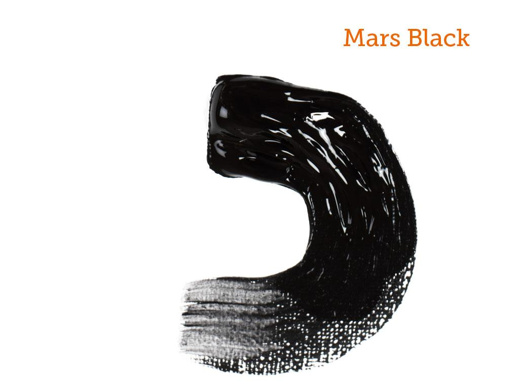 Mars Black Arcylic Paint