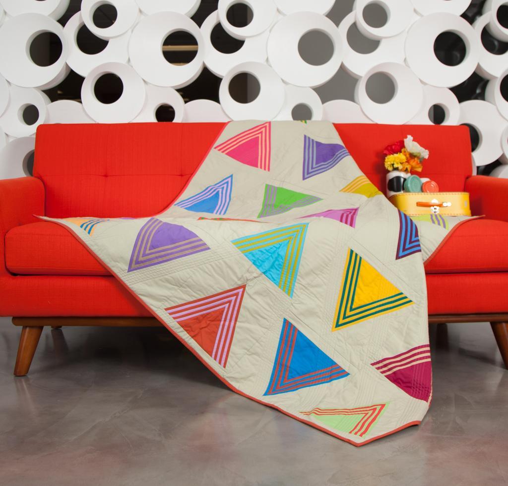Kona Cotton Triangulate Quilt