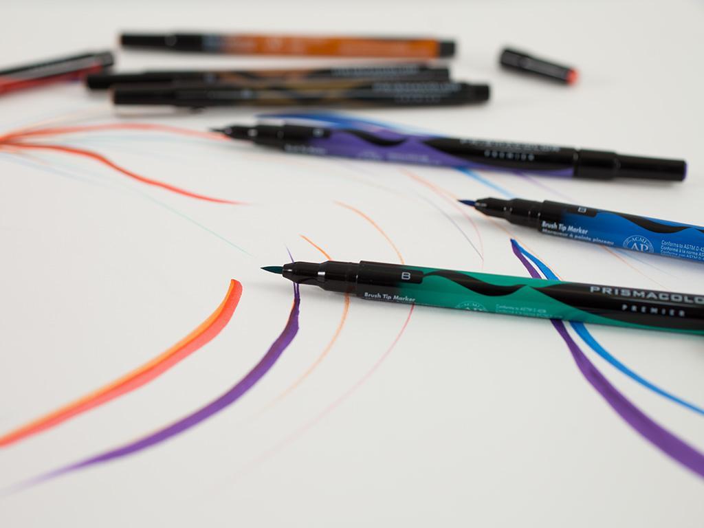 Prismacolor Brush Tip Pens
