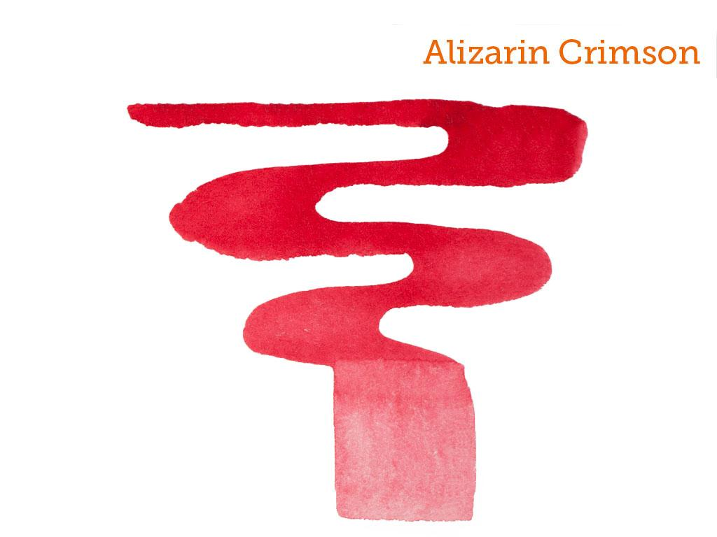 Alizarin Red Acrylic Paint