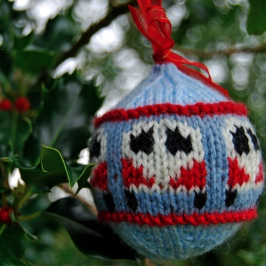 Campervan Christmas Ornament