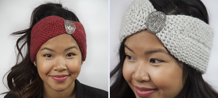 Crochet that looks like knitting slip stitch headband