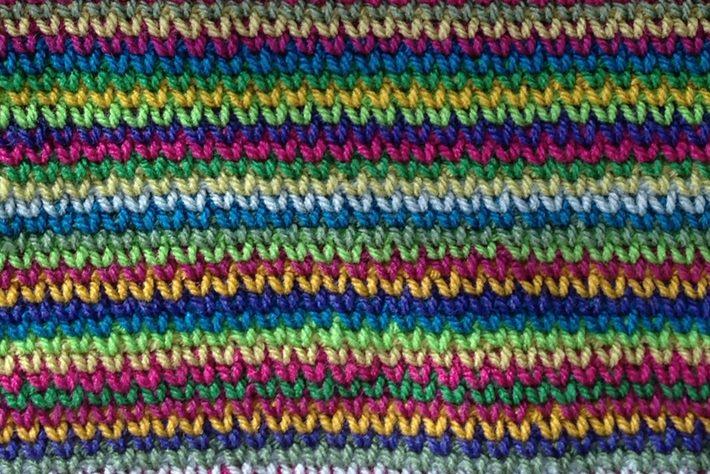 Crochet that looks like knitting waistcoat stitch stockinette