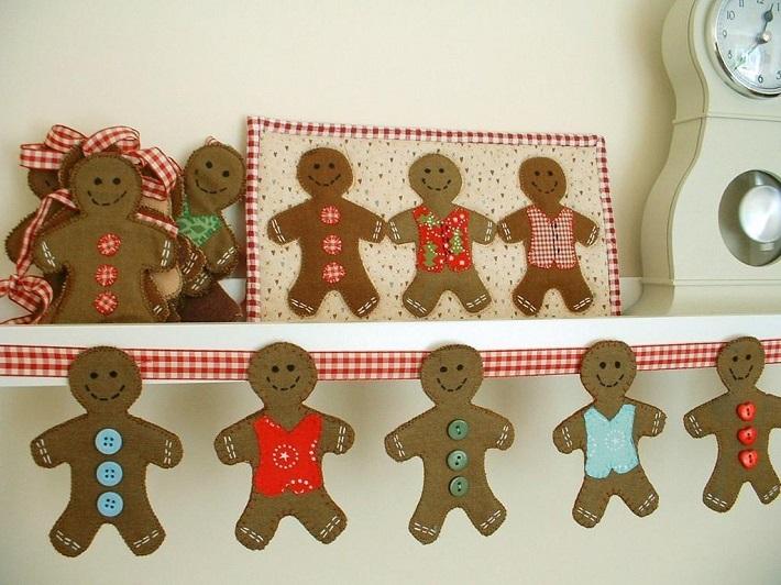 Gingerbread Man Bunting